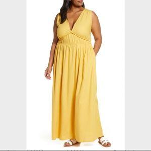 NWT Caslon Favorite Linen Blend Maxi Dress XL